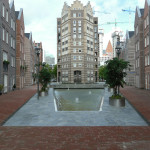 Schaatsvijver centrum Den Haag